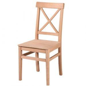 Çapraz Sırtlı Kayın Sandalye