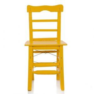 Tahta Sandalye Sarı ts4
